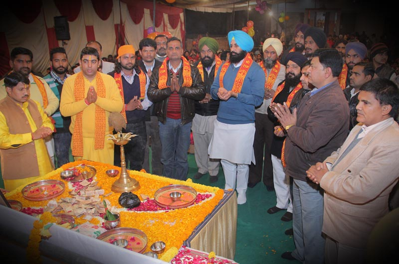 Shrimad Bhagwat Katha Spreads Seeds of True Spirituality on the Land of Ludhiana, Punjab
