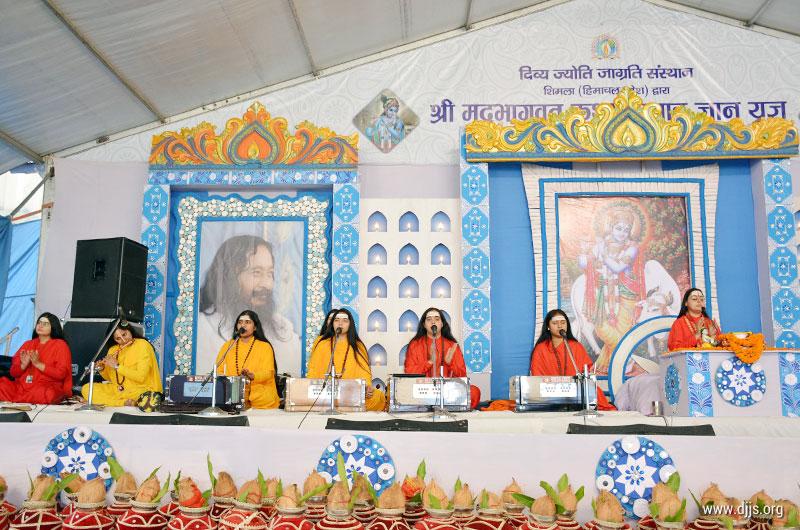 Bhagwat Katha Spreads the Message of 'Bhakti Yoga' in Shimla, H.P.