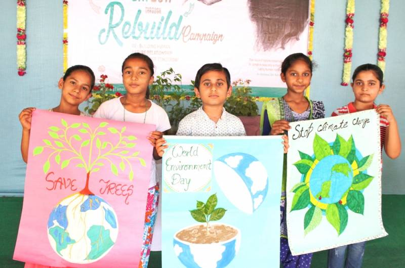Environment Day 2017| Sanrakshan reconnected people with nature through its REBUILD Campaign