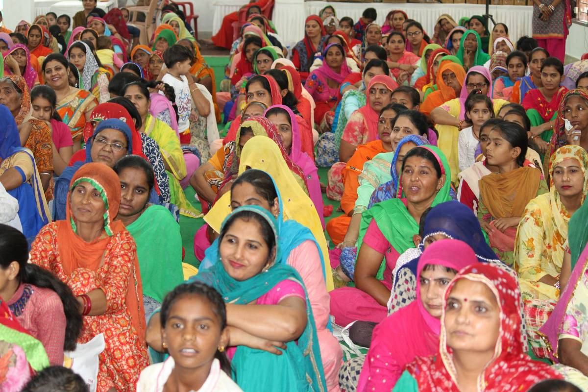 Initiation into the Path of Divinity through Monthly Spiritual Congregation at Anoopgarh, Rajasthan