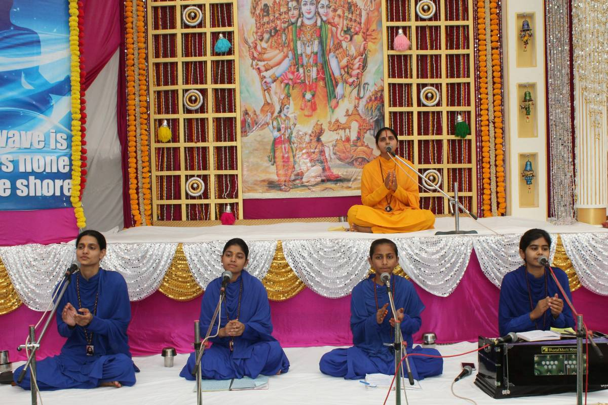 Monthly Spiritual Congregation in Jaipur, Rajasthan Evokes the Feeling of Devotion in the Disciples