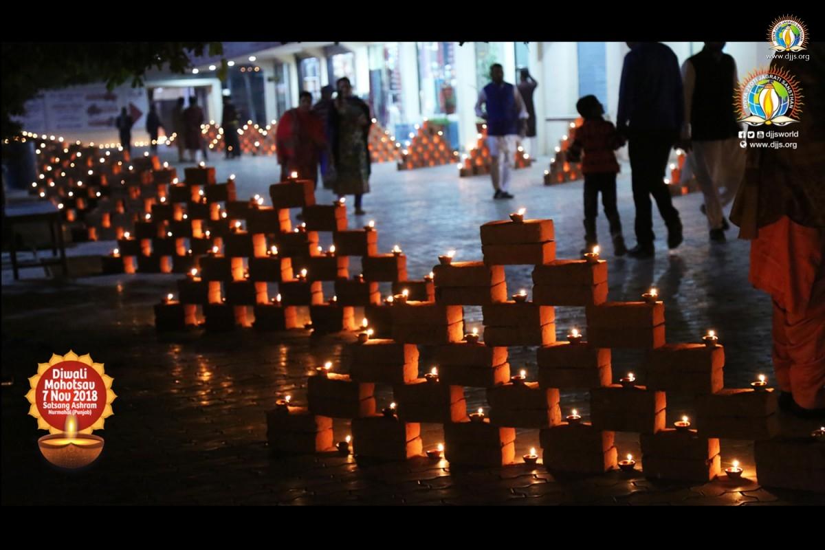 DJJS Nurmahal celebrates a pollution free- pro- environmental divine Deepawali