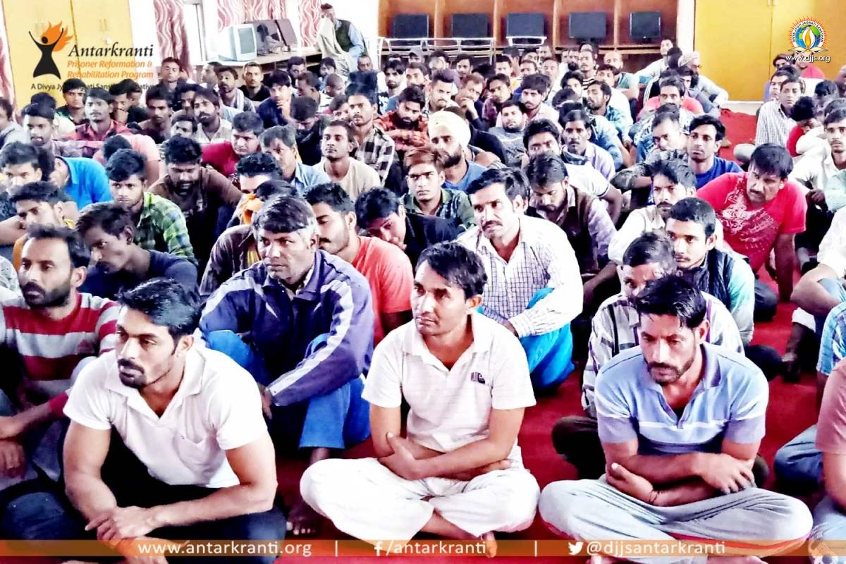 Mediation and Counselling Session at District Jail, Yamunanagar, Haryana unravelling the true meditation