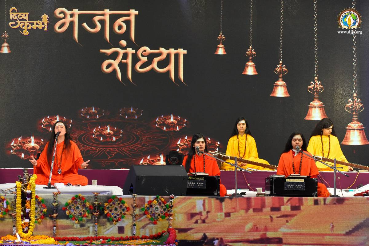 Devotional Concert Acted as a Catalyst to Empower the Youth at Kumbh Mela, Prayagraj