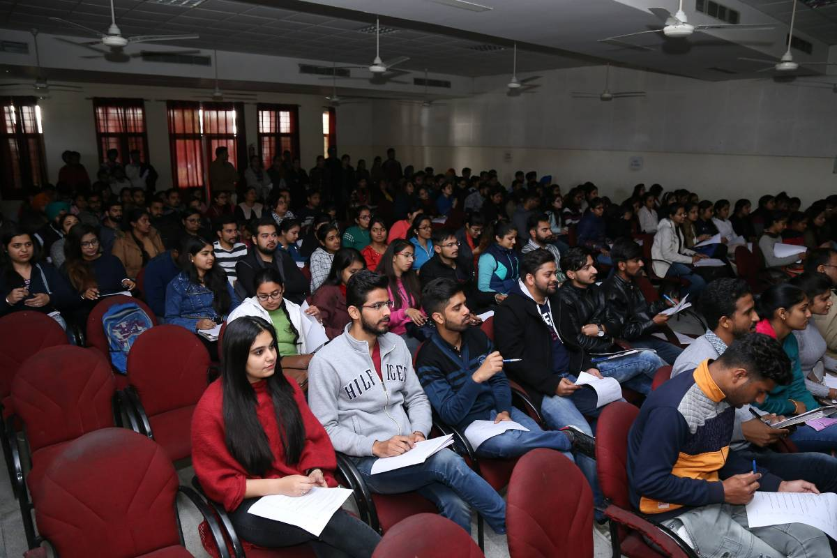 Healing Stress with Divine Knowledge: Lecture on Stress Management at Apeejay Institute of Management Technical Campus (Jalandhar), Punjab