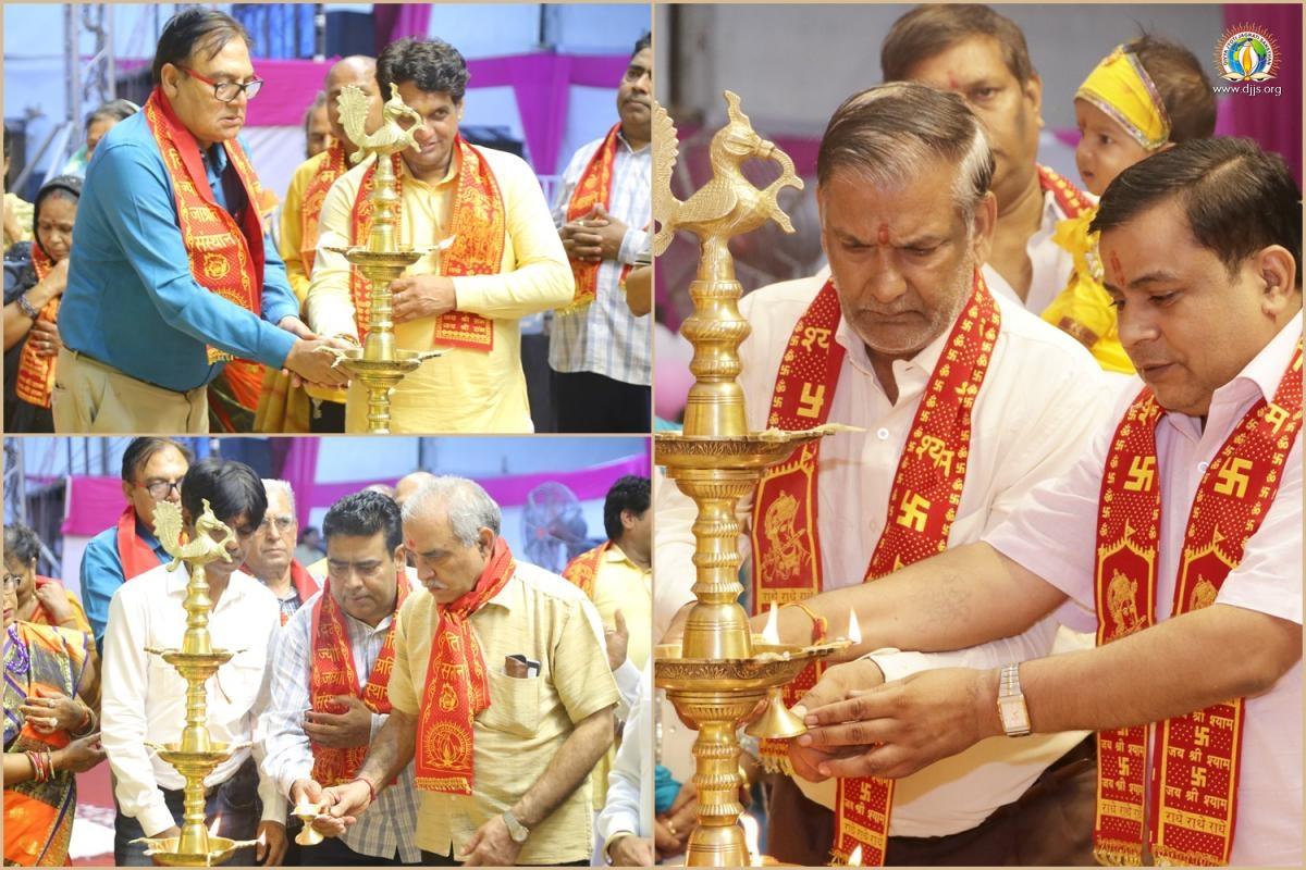 Shrimad Bhagwat Katha Unearthed the Jewels of Spiritual Knowledge at Prahaladpur, New Delhi