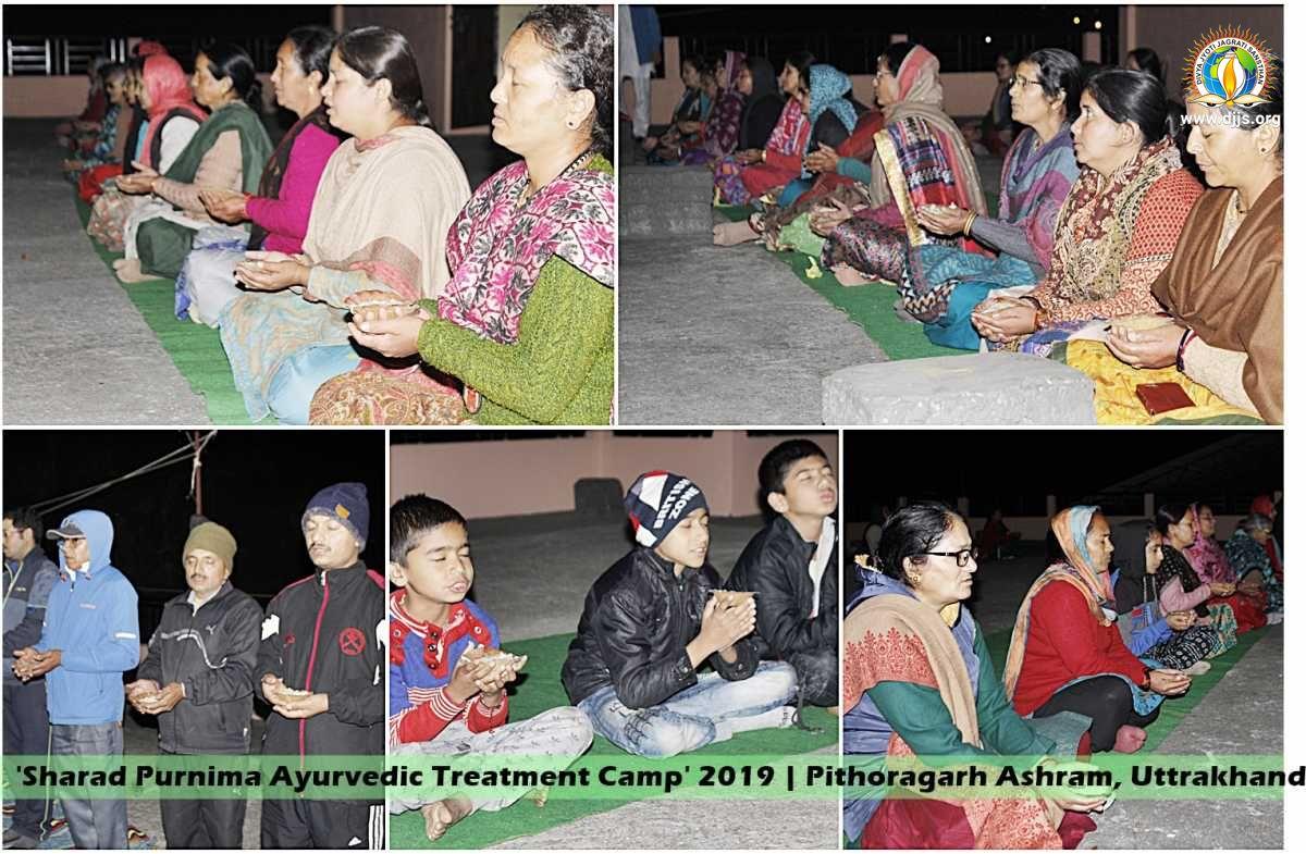 DJJS Sharad Purnima Ayurvedic Treatment Camp extends cure for Asthma