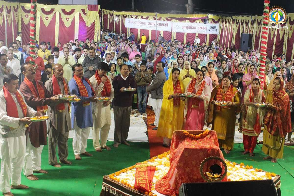 Shri Krishna Katha Kindled Faith in Spirituality amongst the Masses in Pathankot, Punjab