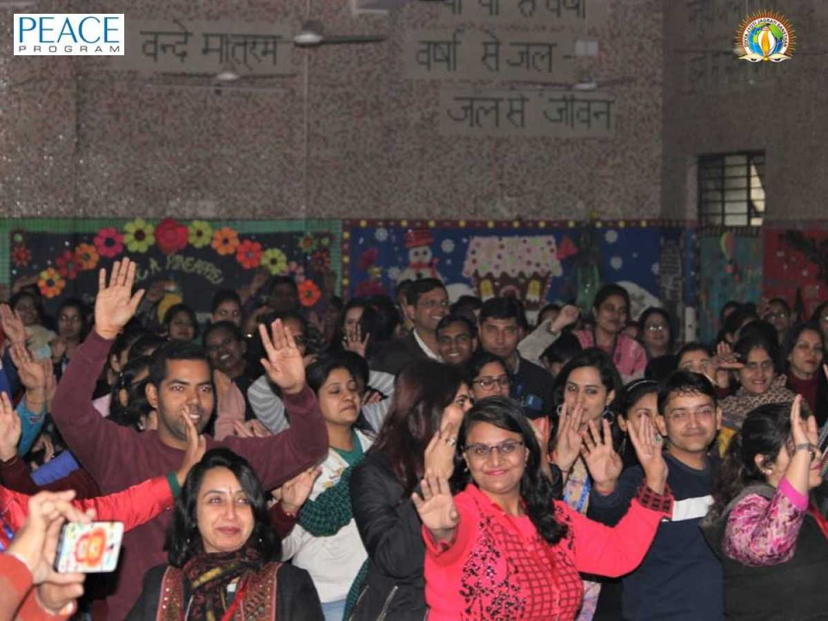 From Distress to De-Stress, Mantra Decoded at T3 Workshop by PEACE | SDMCED, West Zone