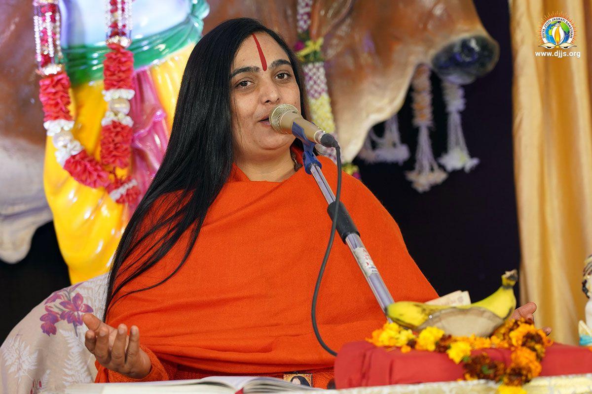 Shri Krishna Katha @ Jagraon, Punjab Enlightened the Path of Spirituality for the Devotees
