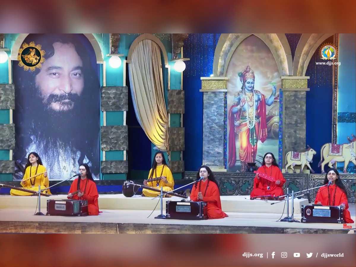 #DJJSKatha | Day 4 | Lessons imbued in Shri Krishnas Childhood Lilas Revealed in Digital Bhagwat Katha